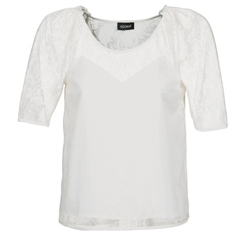 Vêtements Femme Tops / Blouses Kookaï BASALOUI Blanc
