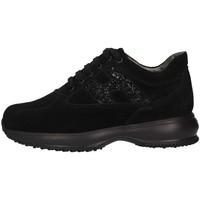 Chaussures Enfant Baskets basses Hogan HXC00N0O240GHMB999 Basket Enfant Noir Noir