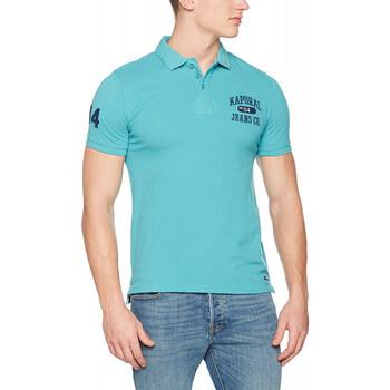 Vêtements Homme Polos manches courtes Kaporal Polo Homme Lotus Bleu Lagon Bleu