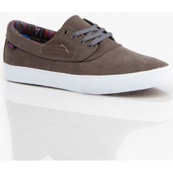 Chaussures Homme Chaussures de Skate Lakai Camby tour smu grey canvas Gris