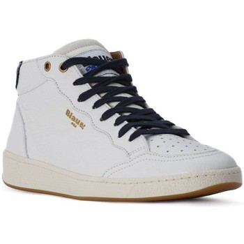 Chaussures Homme Baskets mode Blauer WHITE MURRAY HI Bianco