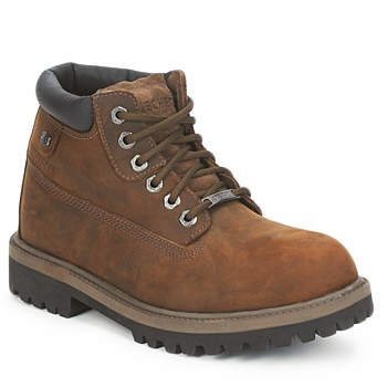 Chaussures Homme Boots Skechers SERGEANTS VERDICT Marron