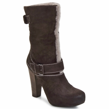 Chaussures Femme Bottines Vic EFARAT Marron