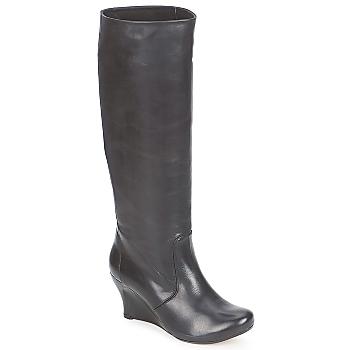 Chaussures Femme Bottes ville Vialis GRAVAT Noir