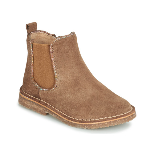 Chaussures Fille Boots André ARIA CAMEL