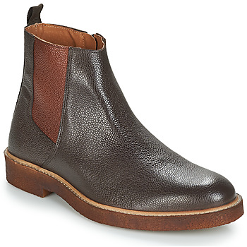 Chaussures Homme Boots André HAWAI MARRON