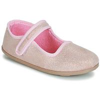Chaussures Fille Ballerines / babies André VIOLINE ROSE