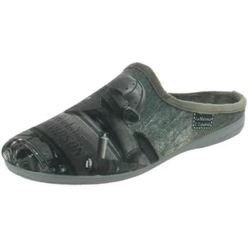 Chaussures Homme Mules La Maison De L'espadrille 6786 gris