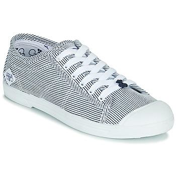 Chaussures Femme Baskets basses Le Temps des Cerises BASIC 02 Bleu / Blanc