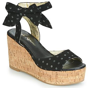 Chaussures Femme Sandales et Nu-pieds Lola Ramona NINA Noir