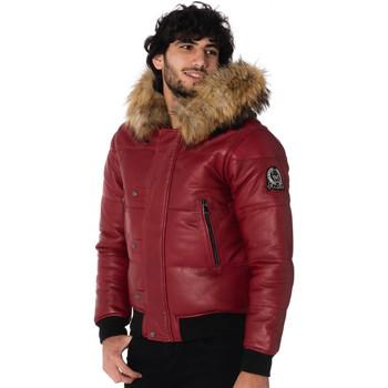 Vêtements Homme Blousons Ladc KUSAM MILAN RED Rouge