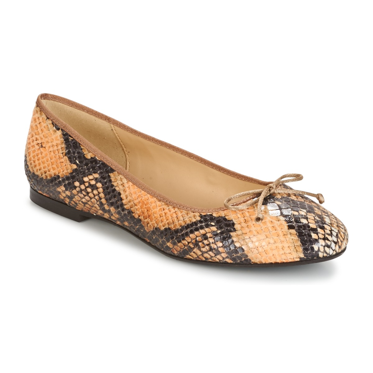 Ballerines Betty London MICORO Marron / Python