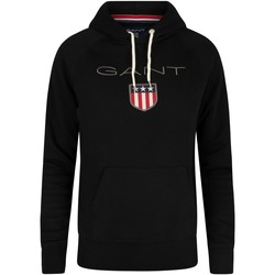 Vêtements Homme Sweats Gant Sweat à  capuche noir