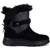 Chaussures Femme Bottes de neige Geox Hosmos Abx Noir