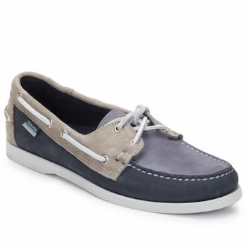 Chaussures Homme Chaussures bateau Sebago SPINNAKER Navy / Blanc / Bleu