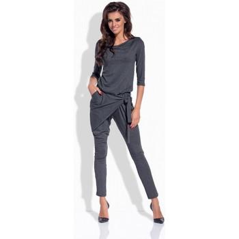 Vêtements Femme Combinaisons / Salopettes Lemoniade Combinaison model 62530 gris