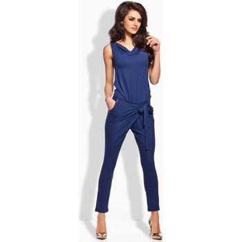 Vêtements Femme Combinaisons / Salopettes Lemoniade Combinaison model 50510 bleu