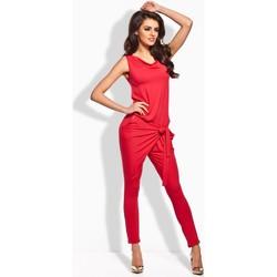 Vêtements Femme Combinaisons / Salopettes Lemoniade Combinaison model 50511 rouge