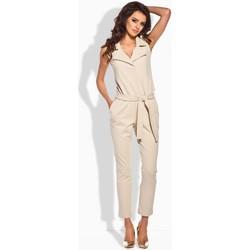 Vêtements Femme Combinaisons / Salopettes Lemoniade Combinaison model 51834 beige
