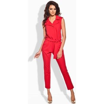 Vêtements Femme Combinaisons / Salopettes Lemoniade Combinaison model 51832 rouge