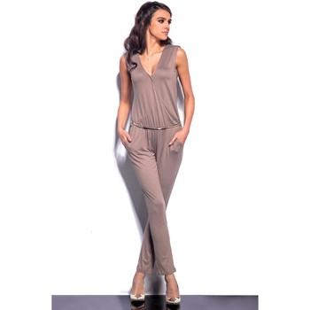 Vêtements Femme Combinaisons / Salopettes Lemoniade Combinaison model 76758 beige