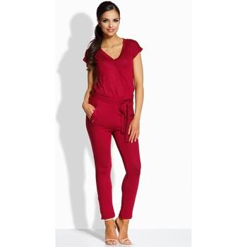 Vêtements Femme Combinaisons / Salopettes Lemoniade Combinaison model 86490 rouge