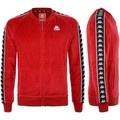 Kappa 3031Q80 Sweat-shirt Homme Rouge