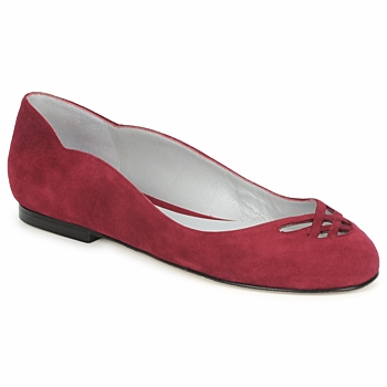 Chaussures Femme Ballerines / babies Fred Marzo MOMONE FLAT BORDEAUX