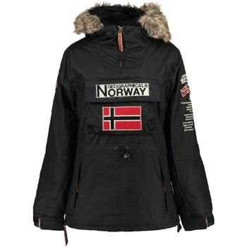 Vêtements Femme Parkas Geographical Norway Parka Femme Boomera Noir