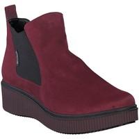 Chaussures Femme Bottines Mephisto Bottine velours EMIE Rouge