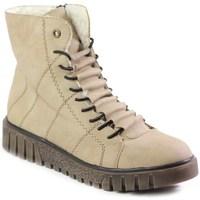 Chaussures Femme Boots Rieker Y342060 Beige