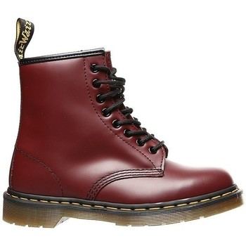 Chaussures Femme Boots Dr Martens Cherry Red Smooth Cerise