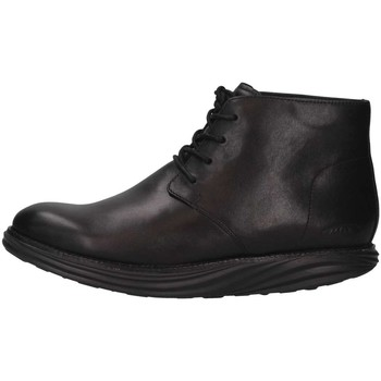 Mbt Homme Boots  700941-03n Ankle  Noir