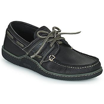 Chaussures bateau TBS GLOBEK Noir  350x350