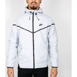 Vêtements Homme Vestes Nike Nike Tech Windrunner Iridescent Jacket - Grey / Black 534