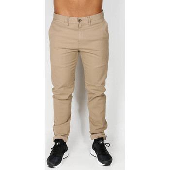 Vêtements Homme Pantalons Ben Sherman Skinny Stretch Chino - Stone 6887