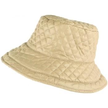 Accessoires textile Femme Chapeaux Nyls Création Grand chapeau Pluie Beige Femme Rayny Beige
