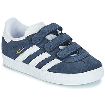 Chaussures Enfant Baskets basses adidas Originals GAZELLE CF I Bleu