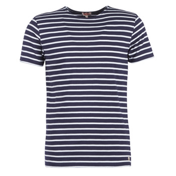 Vêtements Homme T-shirts manches courtes Armor Lux TALOPO Marine / Blanc