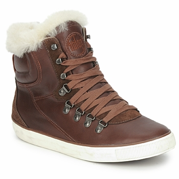 Chaussures Femme Boots FitFlop HYKA BOOT Marron foncé
