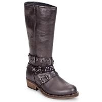 Chaussures Fille Bottes ville Hip NIEGRA Marron