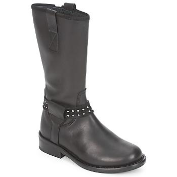 Chaussures Fille Boots Hip GRABI Noir