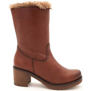 Chaussures Femme Bottes Giorda  Beige
