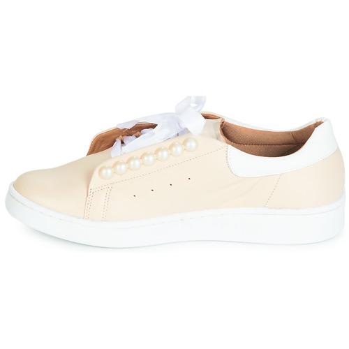 Beige Femme Baskets Houli Cristofoli Chaussures Basses lOPukwiTXZ