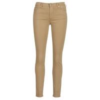 Vêtements Femme Pantalons 5 poches Armani Exchange HELBIRO Beige