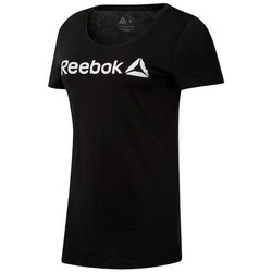 Vêtements Femme T-shirts manches courtes Reebok Sport Linear Read Scoop