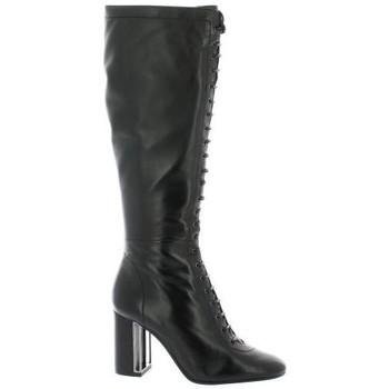 Chaussures Femme Bottes Bruno Premi Bottes cuir Noir