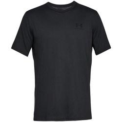 Vêtements Homme T-shirts manches courtes Under Armour Sportstyle Left Chest Noir