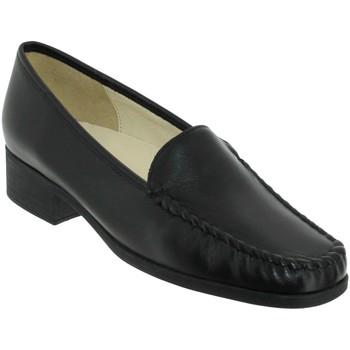 Chaussures Femme Mocassins Marco BOSLER Noir cuir