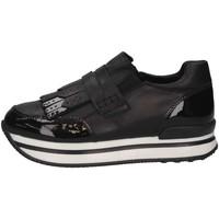 Chaussures Enfant Derbies Hogan HXC2220AW50JSOB999 Basket Enfant Noir Noir